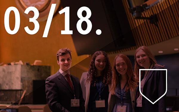 Une dix-huitième participation à la simulation des Nations Unies de New York