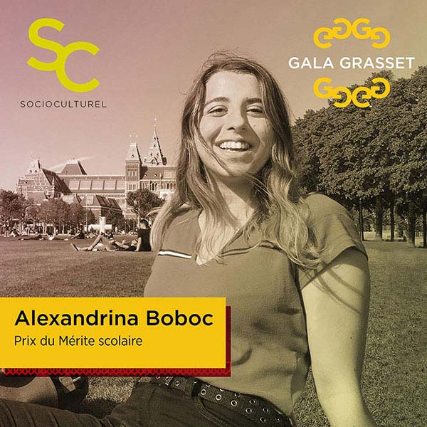Alexandrina Boboc implication cégep