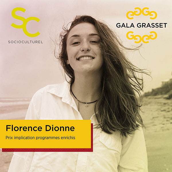 Florence Dionne implication cégep