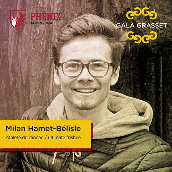 Milan Hamet-Bélisle implication cégep