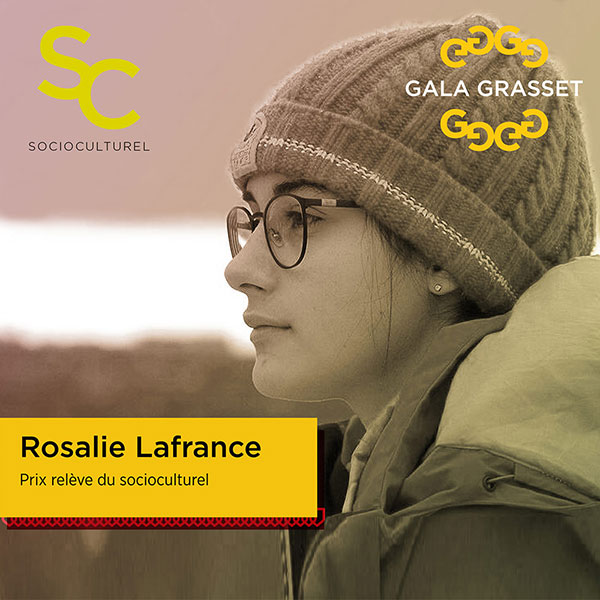Rosalie Lafrance implication cégep