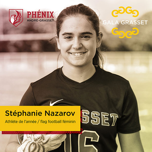 Stéphanie Nazarov implication cégep