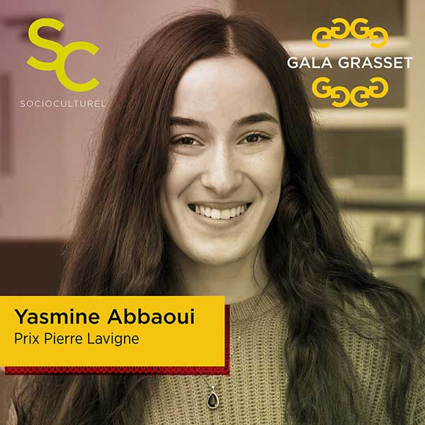 Yasmine Abbaoui implication cégep