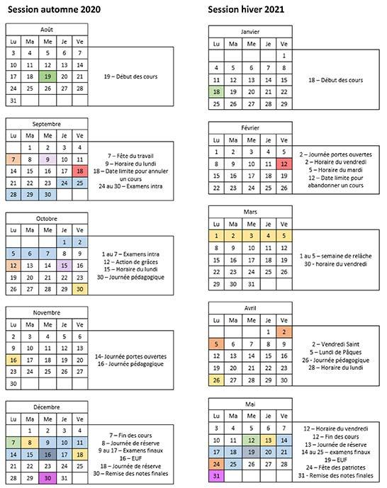 calendrier scolaire andré-grasset